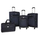 Dockers 4-Piece Classic Softside Luggage Set