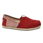 Men's Red Rope Sole