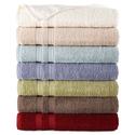6 Home Expressions Solid Bath Towels