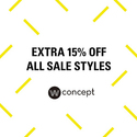 W Concept Labor Day Sale: Extra 15% OFF All Sale Styles