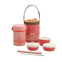 Thermos Lunch Jar Set Pink JBC-801 CP