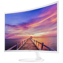 "Samsung 27"" White Curved 1080p LED Monitor"