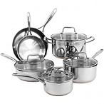 Stainless Steel Copper Set
