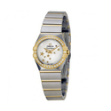 OMEGA Constellation Mother of Pearl Dial Steel and Yellow Gold Ladies Watch
