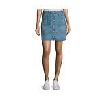 Rag & bone Denim Miniskirt