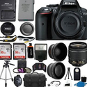 Nikon D5300 Digital SLR Camera + 3 Lens Kit 18-55mm + 32GB Value Bundle