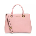 Michael Michael Kors Savannah Medium Saffiano Satchel Bag, Blossom