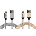Rhino MFi Tough Cables for Apple Lightning Devices (2-Pack)
