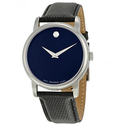 Movado Classic Museum Dark Navy Dial Men's Watch