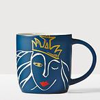 Anniversary Blue Siren Mug