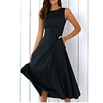 Loose Fitting Midi Dress