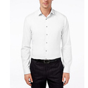 Alfani Men's Fitted Performance Solid Dress Shirt