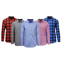 Men's Slim Fit Woven Shirts
