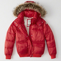 Abercrombie & Fitch Women's Puffer Jacket