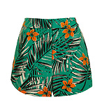 Miami Palm Print Shorts