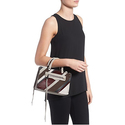 Rebecca Minkoff Micro Regan Genuine Calf Hair & Leather Satchel