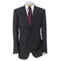 Joseph Slim Fit 2-Button Suits w/ Plain Front Trousers