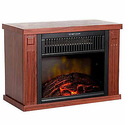 "Northwest 13"" Portable Mini Electric Fireplace Heater"