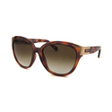 Chloe CE635S-214-58 Women's Oversized Light Havana Sunglasses