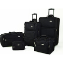 Samsonite 5 Piece Nested Luggage Set (Black)