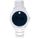 Movado Men's Junior Sport Blue Dial Stainless Steel