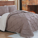 Chandler Sherpa Comforter Set (3-Piece)
