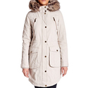 BCBGeneration Faux Fur Trimmed & Lined Parka