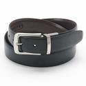 Big & Tall Croft & Barrow Stitched Reversible Leather Belt