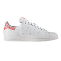 adidas Originals Women's Stan Smith Casual Shoes - White/Collegiate Red