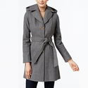MICHAEL Michael Kors Wool-Blend Hooded Coat
