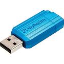 Verbatim USB 2.0 Flash Drive; 16GB, Pinstripe
