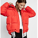 短款修身保暖外套