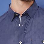 纯色全棉衬衫