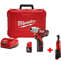 Milwaukee Impact Driver Combo Kit with Ratchet Tool