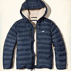 Sherpa Lined Down Puffer