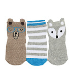 FURRY FRIENDS BABY SOCKS