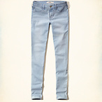 女款低腰牛仔裤