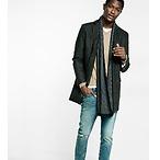 羊毛混纺大衣