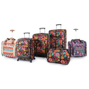 Lily Bloom Spinner Luggage Set or Under Seat Bag