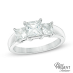 Princess-Cut Diamond Ring