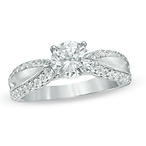 Diamond Edge Bridal Set
