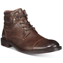 Kenneth Cole Men's Roll With It Cap-Toe Ankle Boots