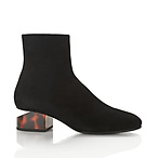 Kelly Suede Boot With Tortoise