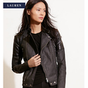 Up to 60% OFF + Extra 30% OFF on Ralph Lauren Leather Jacket