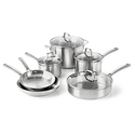 Calphalon Classic 10-pc. Stainless Steel Cookware Set