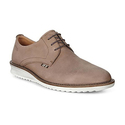 ECCO Men's Contoured Plain-Toe Tie Oxford Shoe