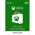 $80 Xbox Gift Card