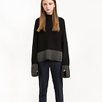 Black and Grey Sweater