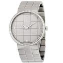 Dior La D De Silver Dial Stainless Steel Ladies Watch