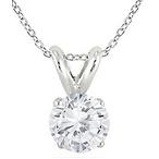 1/7 Carat Diamond Pendant